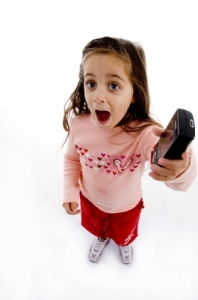 Young kids with cell phones: Really? Is it necessary?
