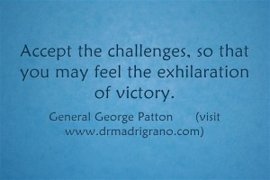 Are you challenged?