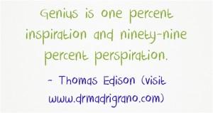 Let your genius come through!